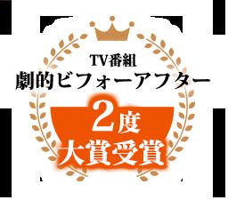 TV番組劇的ビフォーアフター2度大賞受賞