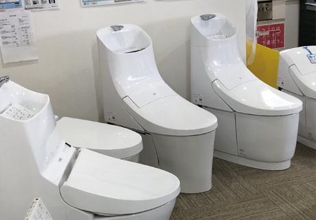 株式会社サンダイ ショールーム トイレ