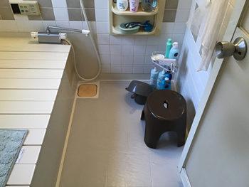 浴室施工前