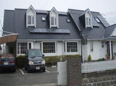 太陽光発電設置後