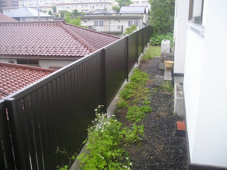 フェンス付替え工事