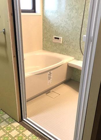 浴室施工後