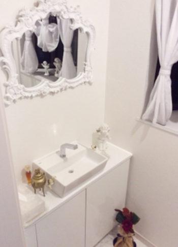 トイレ手洗い施工後