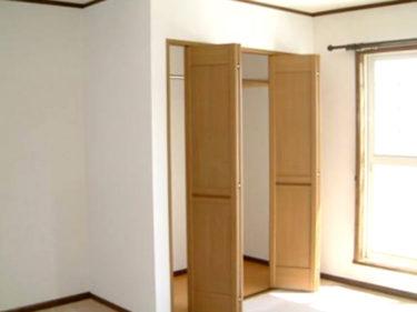 寝室クローゼット収納の新設